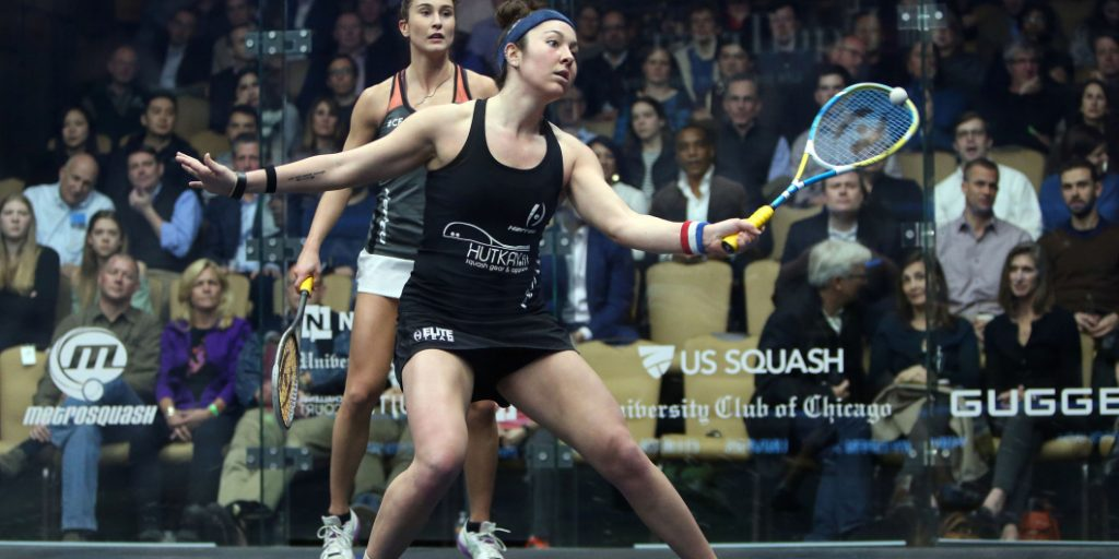 Semis Night El Gouna Comments From The Couch: Amanda Sobhy - Professional Squash Association