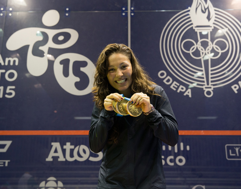 Pan Am Gold Medals Amanda Sobhy