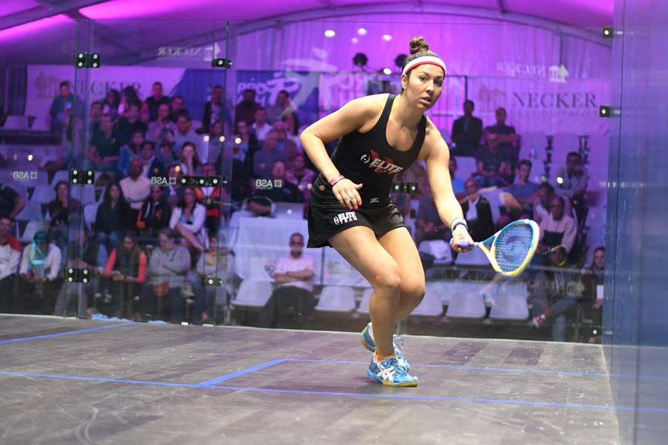 Amanda Sobhy Interview with My Squash