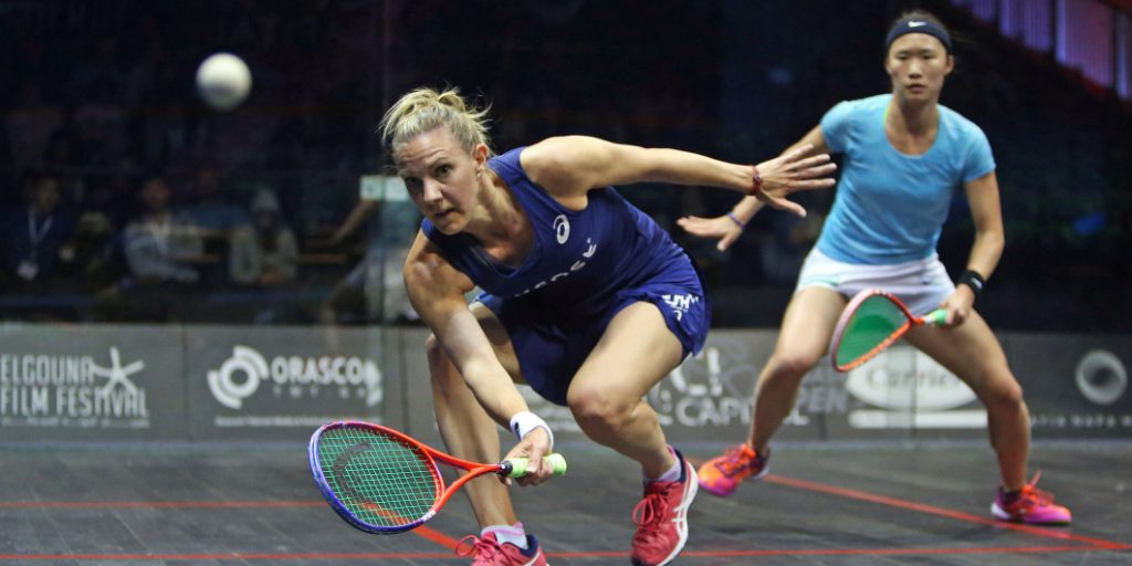 Massaro and Sobhy on the Rise in Women's World Rankings - Professional Squash Association