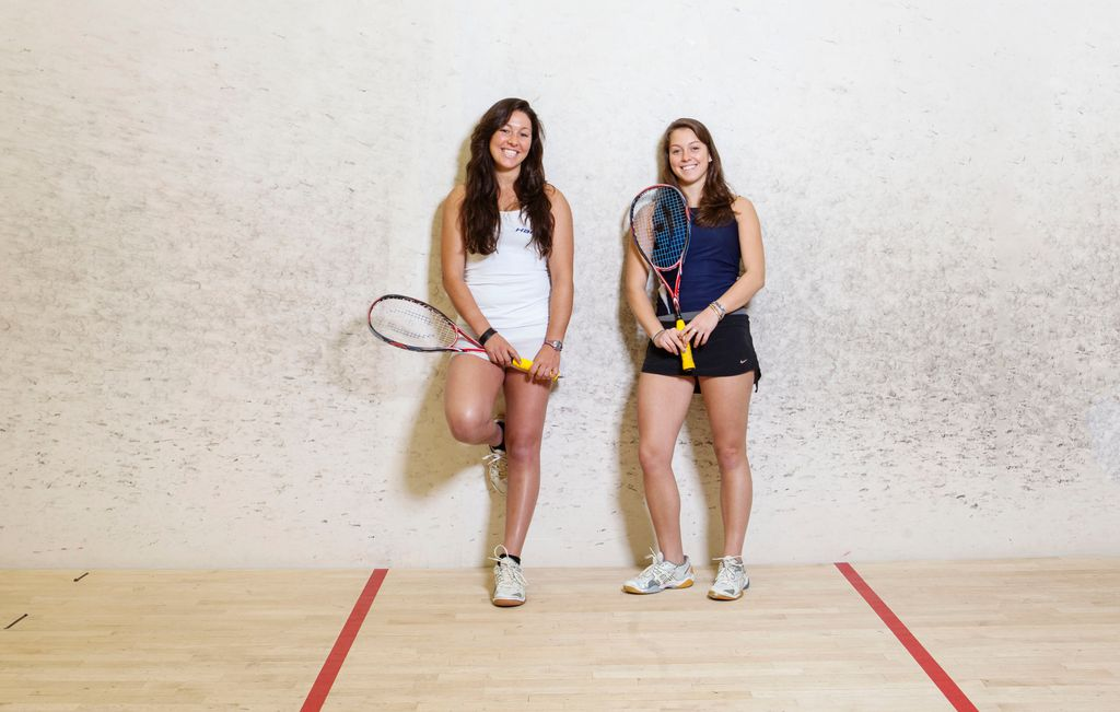 Meet the Venus and Serena of squash