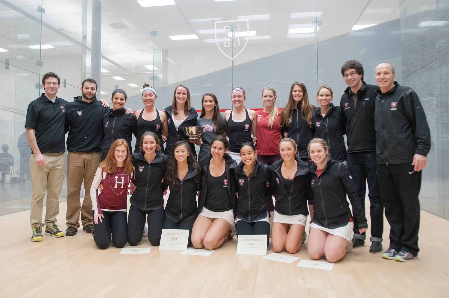 Life on the Tour: Amanda Sobhy '15, Haley Mendez '15, and Sabrina Sobhy '19 Reflect on Time at Harvard, Pro Squash Careers